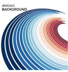 abstract background with bright blue lines vector image vector image