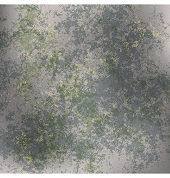 Abstract grunge background of green rusty metall vector
