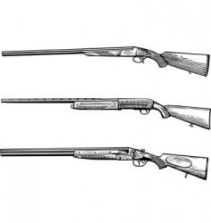 hunters gun vector image