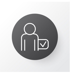 passenger icon symbol premium quality isolated vector image vector image