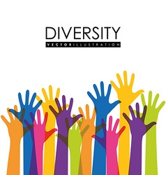 Diversity people design eps 10 vector image