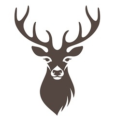 Deer symbol vector