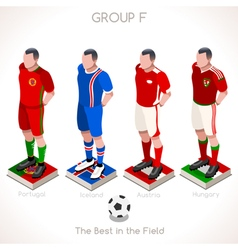 Euro 2016 championship group f vector