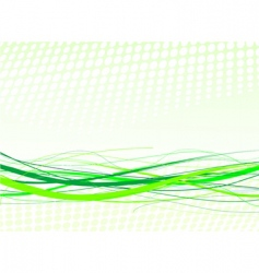 green lines background vector image