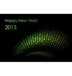 green snake background vector image vector image