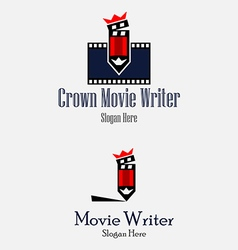 Crown movie writer vector
