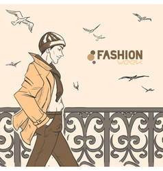 fashion style6 vector image