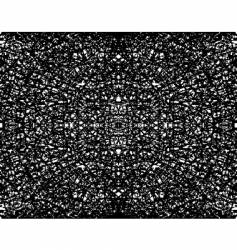 fractal grunge vector image vector image