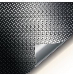 Metal grill background vector image