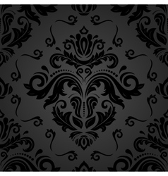 Seamless oriental background vector