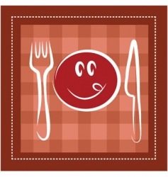 dining and meals vector image
