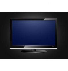 flat screen tv vector image vector image