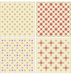 floral patterns vector image