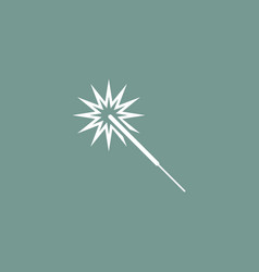 Sparkler icon simple vector