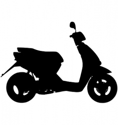 Moped vector