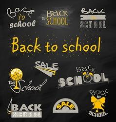 Back to school 6 vector
