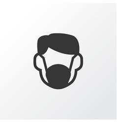 Dust mask icon symbol premium quality isolated vector