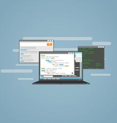Programming vector image