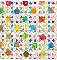 Scrapbook pattern vector image vector image