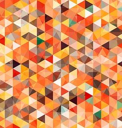 abstract triangle seamless vector image vector image