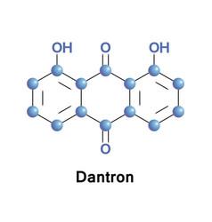 Dantron chrysazin or dihydroxyanthraquinone vector
