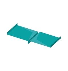 Paper plane style modeling light vector