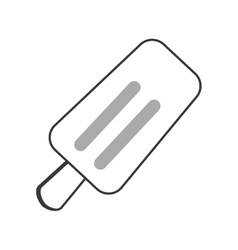 Single popsicle icon vector
