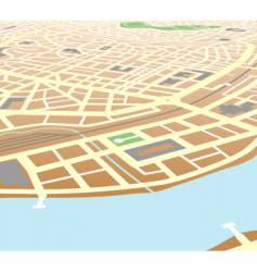 riverside city vector image
