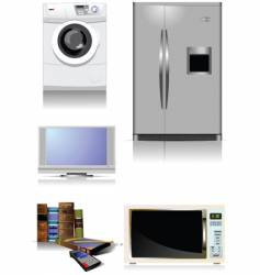 Home equipment vector
