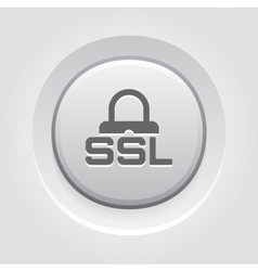 Ssl secured icon flat design vector