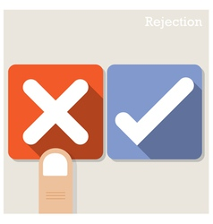 Rejection concept vector