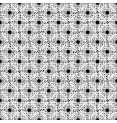 Design seamless monochrome diagonal points pattern vector image vector image