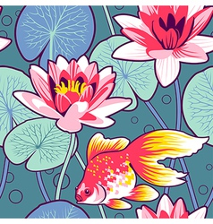 Lily pattern vector