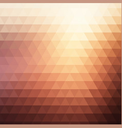 Muted colours low poly background vector