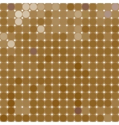 SandBricks Mosaic from multi-colored circles vector image