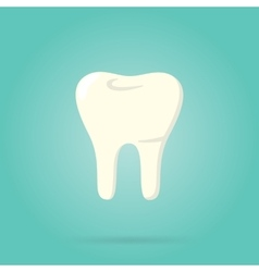 Tooth logo isolated vector image
