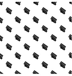 brick in a hand pattern vector image