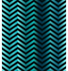 Dark turquoise gradient chevron seamless pattern vector