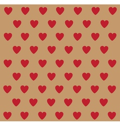 Heart polka dots vector