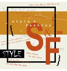 Style and fashion word cloud concept vector