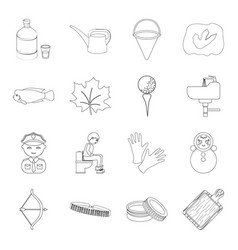 alcohol profession medicine and other web icon vector image vector image