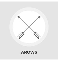 Arows flat icon vector