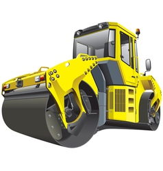 large double roller vector image vector image