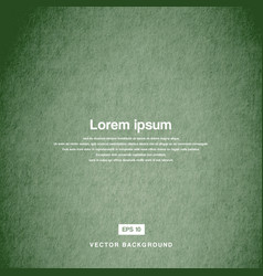 Background design texture of the old paper green vector