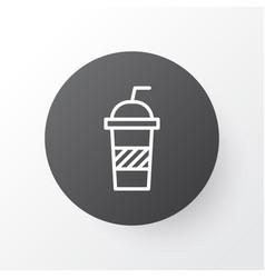 Soft drink icon symbol premium quality isolated vector