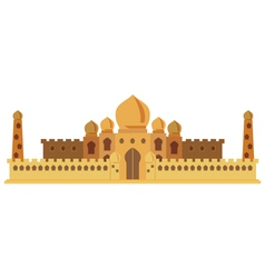 Indian castle vector