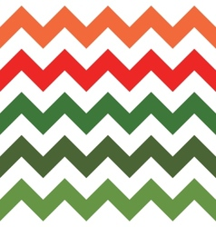 Red and green zigzag pattern vector