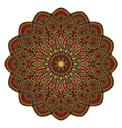 Rich asian mandala vector image vector image