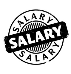 Salary rubber stamp vector
