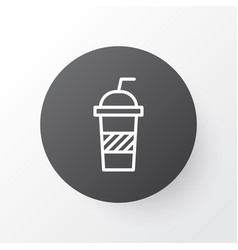 soft drink icon symbol premium quality isolated vector image